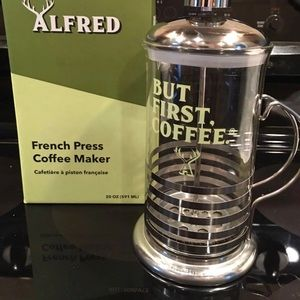 Other - Alfred coffee press NEW